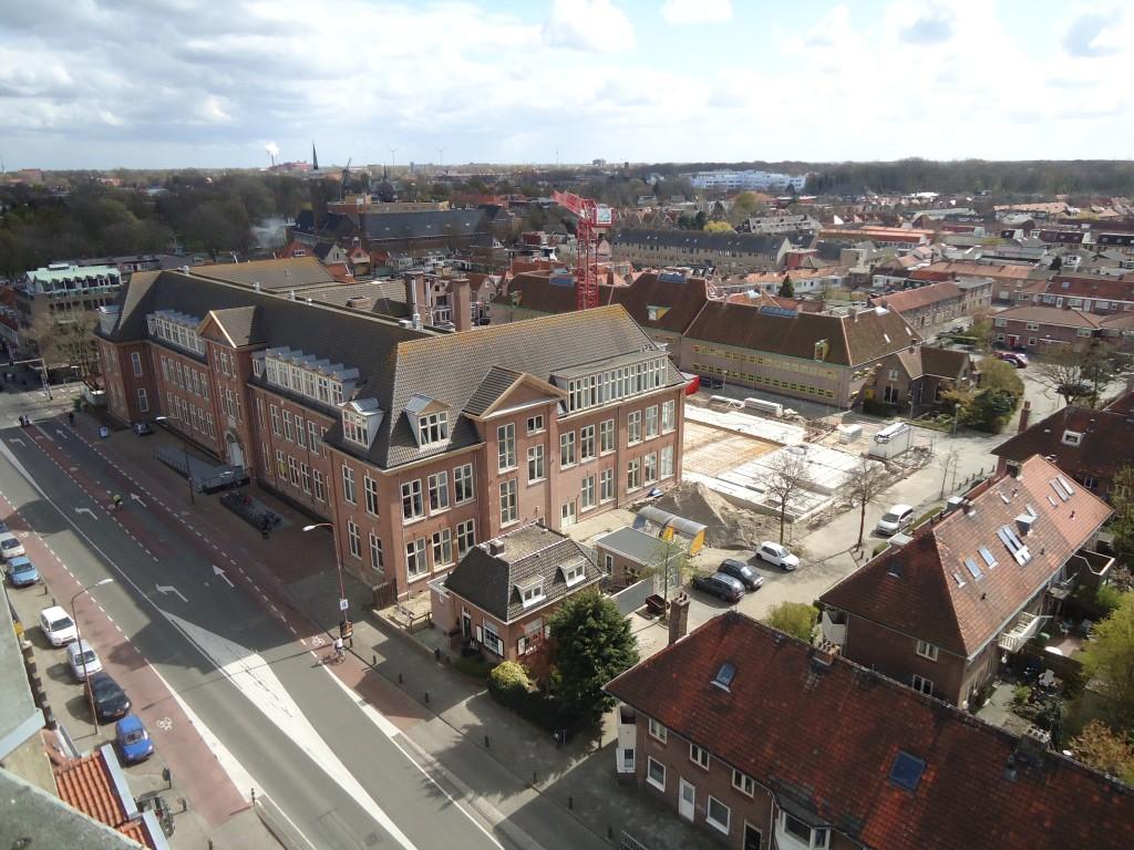 Uitzicht vanaf de watertoren